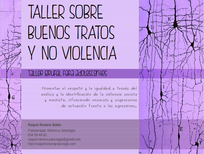 adolescencia buenos tratos no violencia respeto igualdad bullying ciberbullying acoso escolar