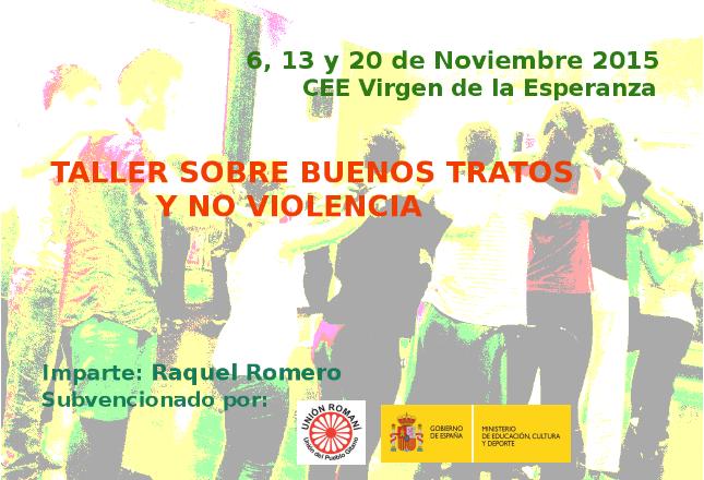Taller sobre Buenos Tratos y No Violencia